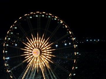 Ferris Wheel HLSR | Sand in a Jar Poem | Koogimama Ponders