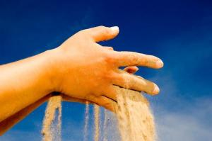 Sand Falling From Hands | Sand in a Jar Poem | Koogimama Ponders