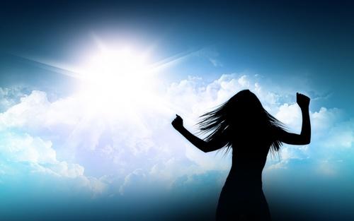 Dancing in the Sunlight   Shine On Poem   Koogimama Ponders