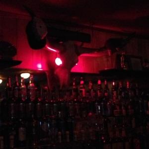 The Mad Bull Club Back Wall