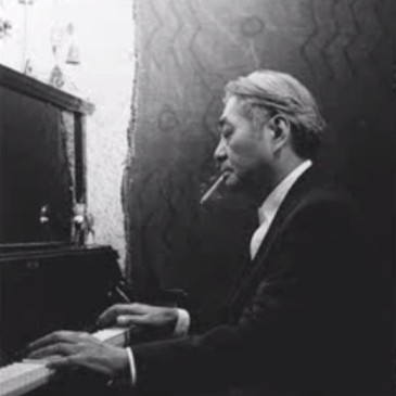 "Man Smoking a Cigarette and Playing Piano - ""The Piano Man"" Poem about Death - Koogimama Ponders"