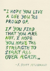 A Life You're Proud Of - Inspirational Quote - Poem about Life's Journey in The Sunshine Theory